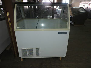 Kelvinator Visidipper Used 4 Ft Dipping Cabinet Cold Cool Ice Cream