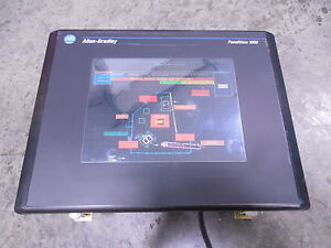 Used Allen Bradley 2711 t10c15 Panelview 1000 Operator Interface Series C Rev B