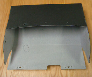 1955 1956 Chevy Glove Box Card Board Liner With Hardware Usa Made