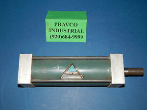 Alkon Pneumatic Air Cylinder 6 Stroke 2 5 8 2 625 Bore 9 3 4 9 75 Length
