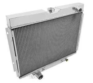 1967 1968 1969 Ford Ranchero As Champion 4 Row Aluminum Radiator