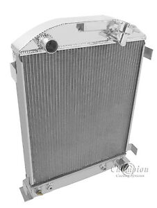 1932 Ford Sedan Delivery As 3 Row Alum Radiator