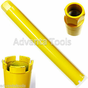 2 Wet Diamond Core Bit For Heavy Reinforced Concrete Soft To Hard Aggregate