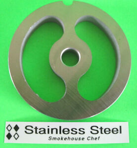 2 3 4 X 2 hole Meat Grinder Sausage Stuffer Spacer Kidney Plate Disc Screen