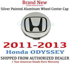 2011 2013 Honda Odyssey Genuine Oem Silver Painted Aluminum Wheel Center Cap