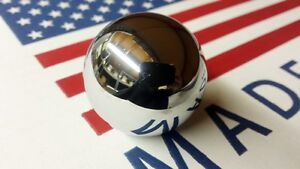 Chrome Shift Knob Ball 3 4 5 Speed 3 8 For Hurst Shifter Camaro Mustang Chevelle