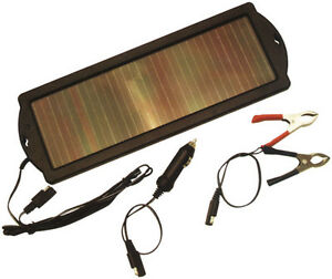 Solar Powered 12volt Trickle Charger