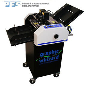 Graphic Whizard 3000 Table Top Numbering Machine Slit Perf Score New