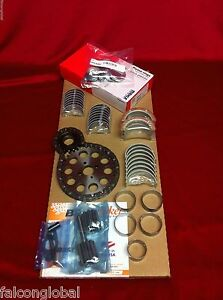 Cadillac 390 Engine Kit Moly Rings Rod Main Cam Bearings Timing Gaskets 1959 62