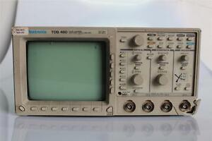 Tektronix Tds 460 Four Channel Digitizing Oscilloscope 350 Mhz 100 Ms s