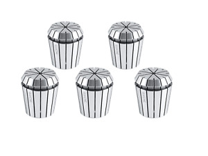 5 Pcs 3 16 Er40 Collet Set X 0 0005 In Fitted Box 0223 0892x5