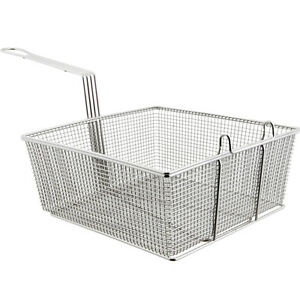 Deep Fryer Basket 12 X13x 5 25 Heavy Duty New 63103