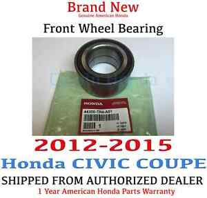 2012 2015 Honda Civic Coupe Si Ex l Genuine Factory Oem Front Wheel Bearing