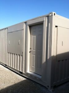 20 Container Office Fully Furnished Integration Ready For Your Site