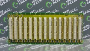 Used Schroff 23000 015 15 Slot Vme Systembus Backplane Board