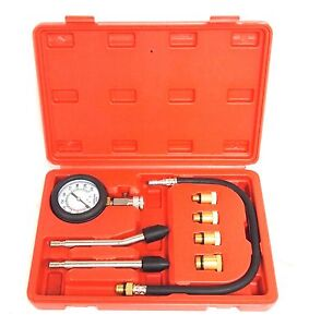 New Engine Cylinder Compression Tester Kit Auto Tools