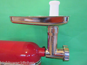 Stainless Steel Meat Grinder For All Kitchenaid Professional 5 5 5 6 0 7 0 Mixer