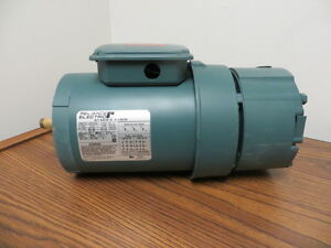 Reliance Electric 3 4 Hp Ac Motor With Brake P56h7213p Fb56c Type P New