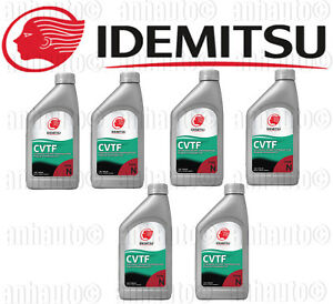 Set 6 Idemitsu Cvt Continuously Variable Transmission Fluid For Nissan Suzuki