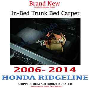 Genuine Oem Honda Ridgeline In bed Trunk Carpet Mat 2006 2014 08p11 sjc 100