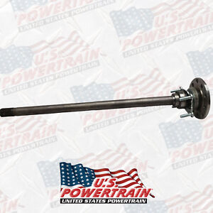 New Rear Axle 07 16 Jeep Wrangler Dana 44 W Tru Lok And Bearing
