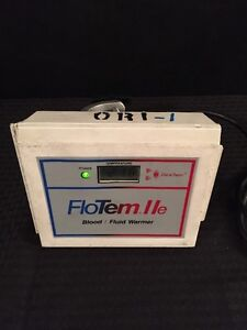 Datachem Flotem Iie Blood fluid Warmer Type 4 See Description For Condition