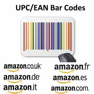 50000 Upc Ean Codes Certified Numbers Barcodes For Amazon Ebay Lifetime Guarante