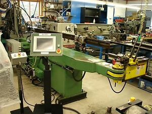 Pines 1 1 2 Cnc Hydraulic Tube Pipe Bender With Eaton Leonard Side Winder Loader