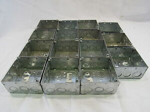 Steel City 521711234e Electrical Outlet Box lot Of 15 xlnt
