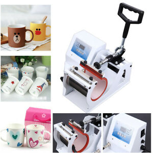 350w Digital Display Heat Press Transfer Sublimation Machine For Cup Coffee Mug