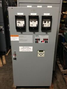 260 Amp Asco 7000 Series Closed Transition Automatic Transfer Switch 480 277 V
