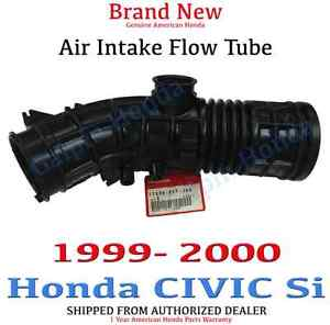 1999 2000 Honda Civic Si Coupe Air Intake Flow Tube Genuine Oem 17228 P2t J00