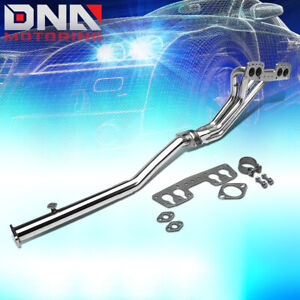 For 90 95 4runner Pickup 2wd 22re Stainless Long Tube Performance Header Exhaust
