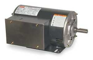 New Dayton 2hp Electric Motor 115 208 230v Single Phase 5uke4 Frame 56h 3450 Rp