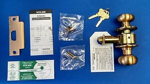 Schlage A70pd Plymouth X 612 Classroom Lockset