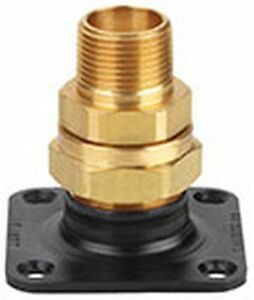 Gastite flashshield Termination Fitting 1 1 4 In flange adapter nut bushing