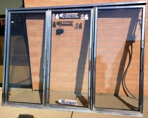 Thermo Glass Doors For Walking Cooler Or Freezer Set Of 3 Units