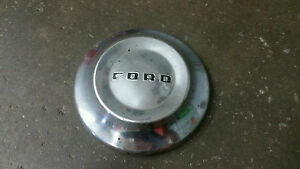 Ford Oem 1952 1953 1954 Chrome Metal 10 1 2 Dog Dish Poverty Hubcap Cover