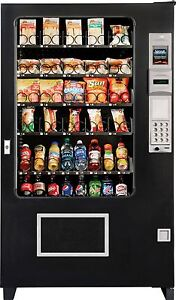 Ams Glass Front Combo Bottle food Vending Machines Brand New made In America