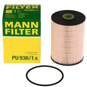 Fuel Filter Mann 1k0127434b For Vw Golf Jetta Tdi Diesel