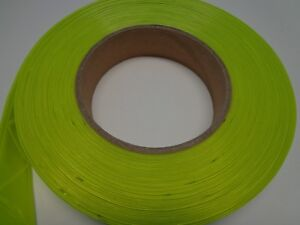 Reflective Sew On High Gloss Trim Tape Yellow 2 50 Ft