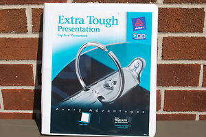 Avery 1 2 Extra Tough Presentation Binders 03734 Lot Of 12 S5033