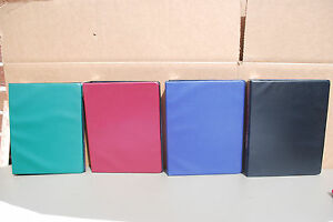 Avery 1 Durable Ring Binders 14515 Asst Colors 5 5 x 8 5 Lot Of 12 S5037