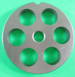 22 X 3 4 Meat Grinder Plate Disc Stainless Steel Fits Mtn Cabelas Others