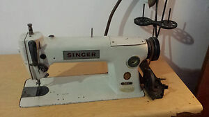 Vintage Industrial Strength Singer Sewing Machine 281 1 Mechanical