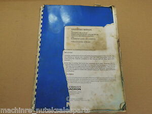 Cincinnati Milacron Operating Manual Sabre 500 750 100 2000_arrow 500 750