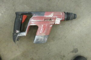 Hilti Te 5a Sds plus Chuck 24v Cordless Hammer Drill Bare Tool Used 334