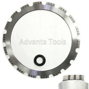 14 Arix Turbo Segmented Ring Saw Blade For Hard Materials W Drive Wheel