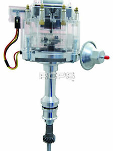 New Clear Cap Hei Distributor For Ford V8 302 5 0l Efi To Carburator Conversion