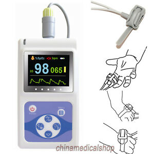 Usa Neonatal Infant Pediatric Kids Born Pulse Oximeter Spo2 Monitor Pc Software